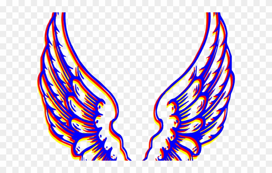 Angel Clipart Colorful.