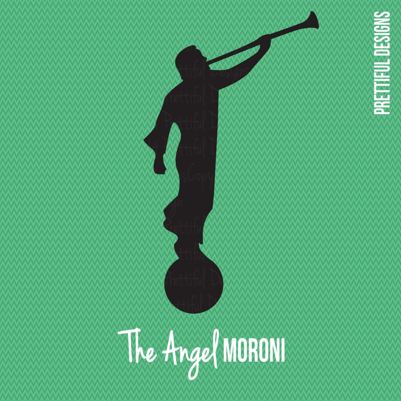 Angel Moroni LDS Mormon Clip Art by ILoveToSeeTheTemple on Etsy.