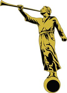 Angel Moroni Clipart.
