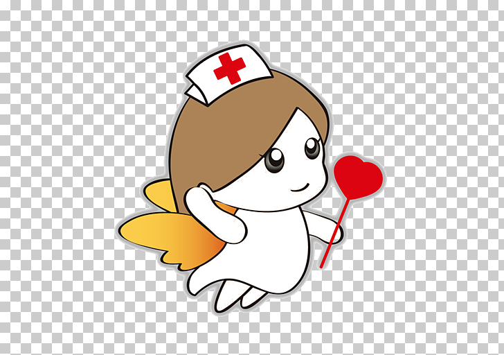 Nurse Nursing Health Care Physician, Cartoon Nurse Angel.