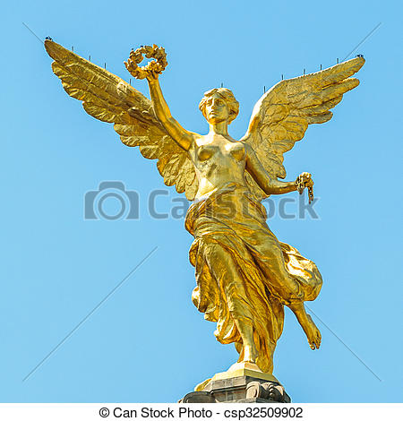 Stock Photography of El Angel.