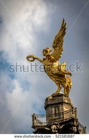 Angel Of Independence Stock Photos, Royalty.