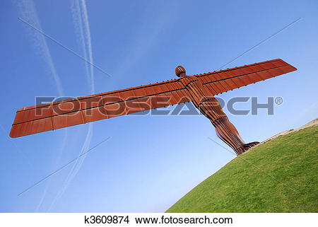 Stock Photo of Angel of the North k3609874.