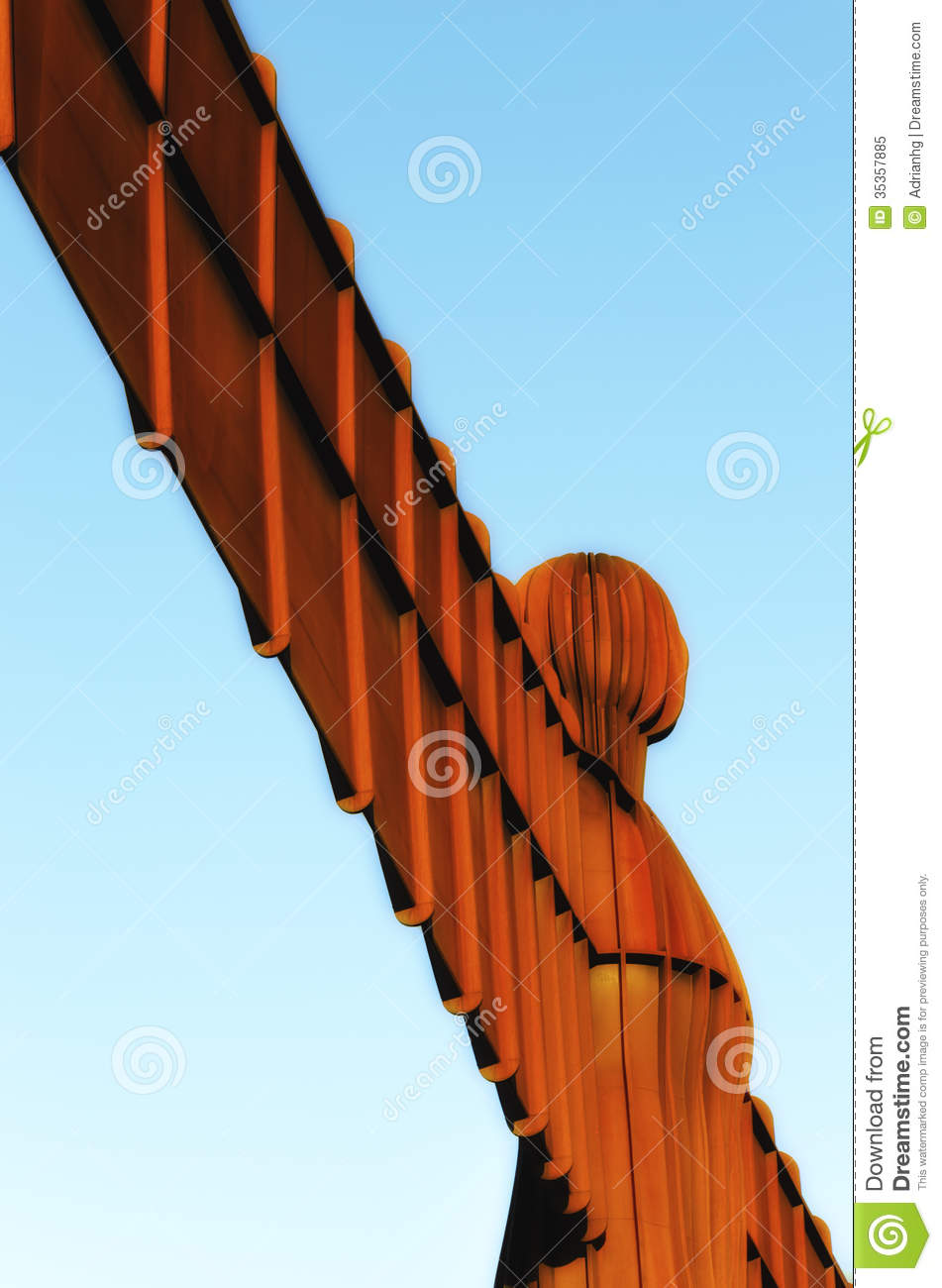 Angel Of The North Royalty Free Stock Photo.