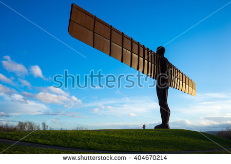 Angel Of The North Stock Photos, Royalty.