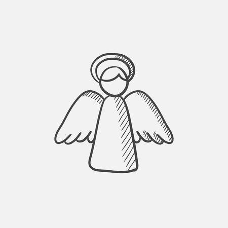 Angel outline clipart 7 » Clipart Station.