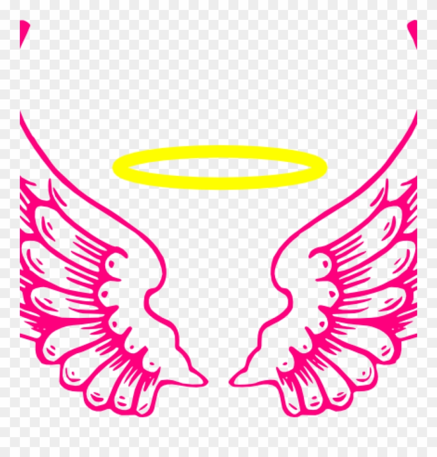 Download Simple Wing Outline Clipart Drawing Clip Art.