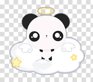 Iconos y de Angel Pets Kawaii, Angel Bunny transparent.