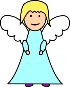 Angel picture clipart #16