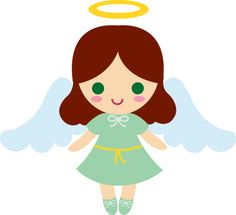 Angel picture clipart #20