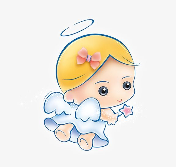 Angel Baby, Angel Clipart, Baby Clipart, Angel PNG.