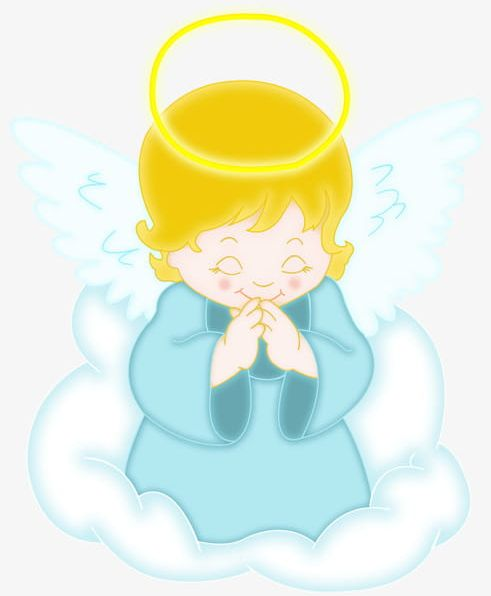 Praying Little Angel PNG, Clipart, Angel, Angel Clipart.