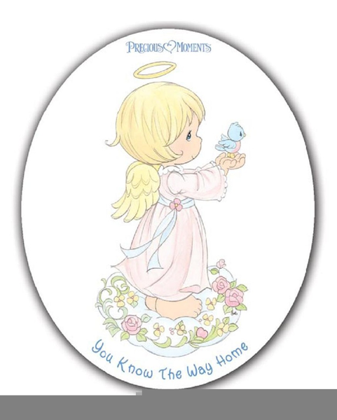 Free Precious Moments Angel Clipart.
