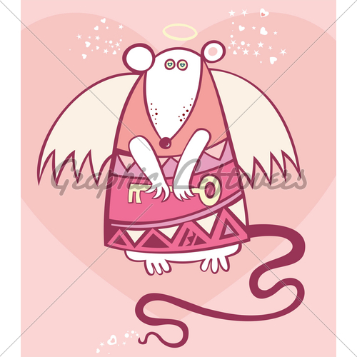 Angel Rat Valentine · GL Stock Images.