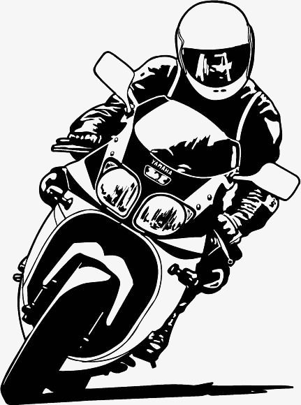 People Riding A Motorcycle, People Clipart, Motorcycle.