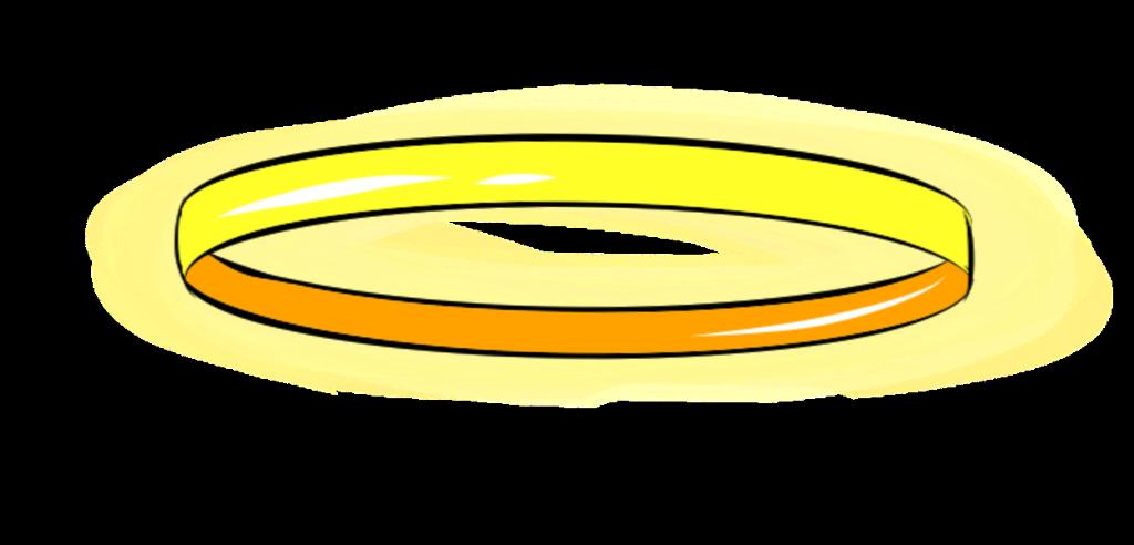 angel angels ring rings circle circle around yellow yel.