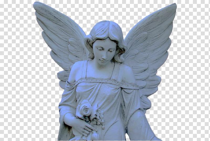 AESTHETIC STATUES, concrete angel statue transparent.