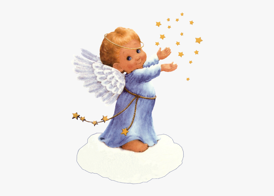 Angel And Stars.