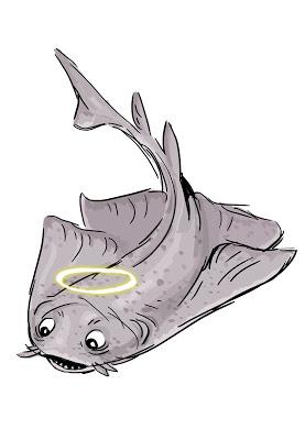 Shark Week Sketch Jam: 2012.