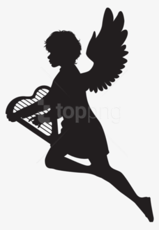 Angel Silhouette PNG, Transparent Angel Silhouette PNG Image Free.