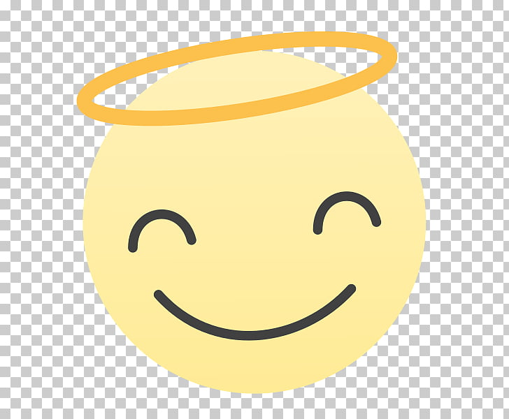 Smiley Text messaging , Angel Face PNG clipart.