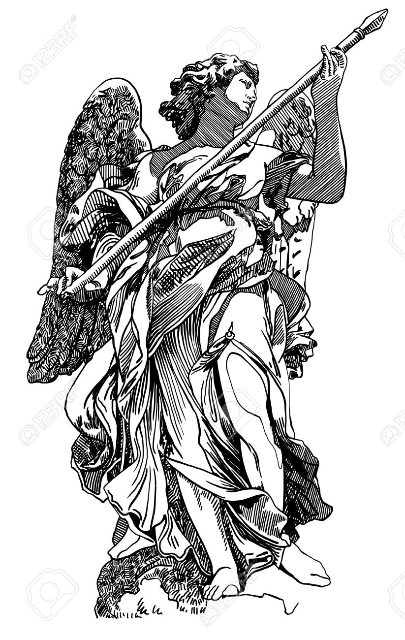 365 Angel Statue Stock Vector Illustration And Royalty Free Angel.
