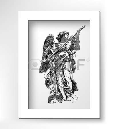 361 Angel Statue Stock Vector Illustration And Royalty Free Angel.
