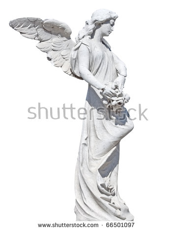 Angel Statue Stock Photos, Royalty.