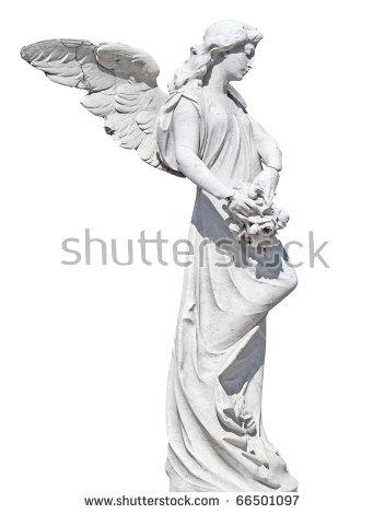 Angel Statue Stock Photos, Royalty.
