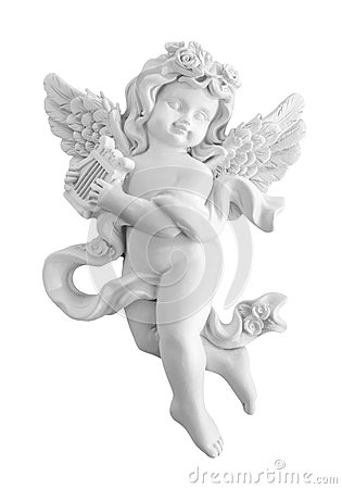 Angel Statue Stock Photography.