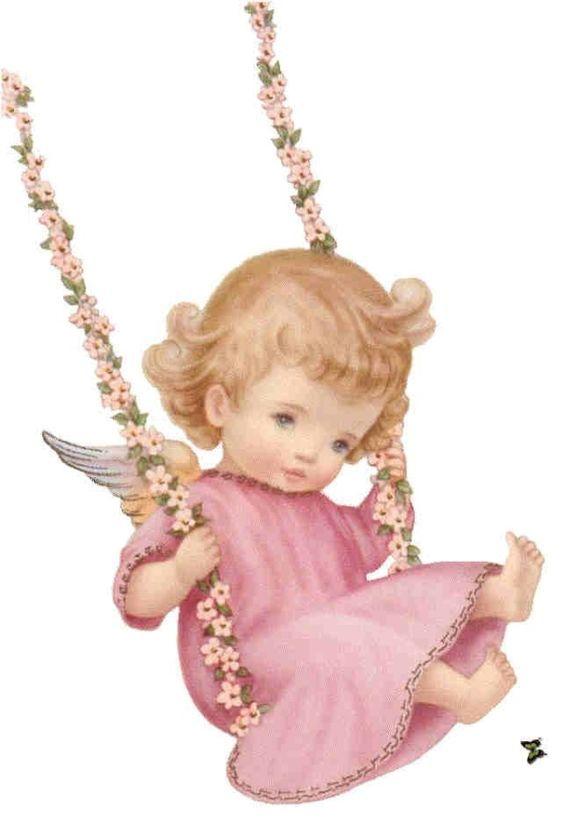 swinging angel.