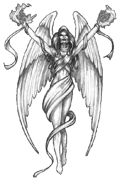 Angel Tattoos PNG Transparent Angel Tattoos.PNG Images..