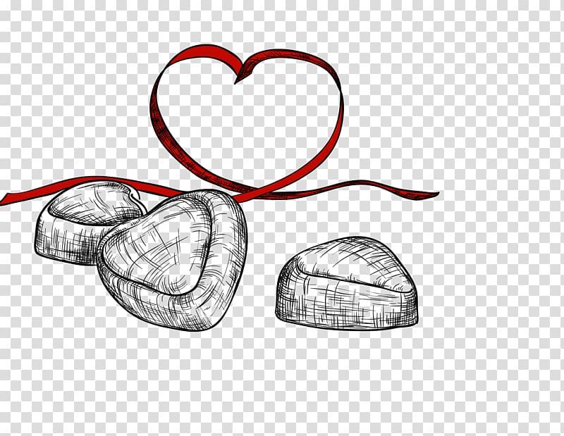 Heart Template , Hand.