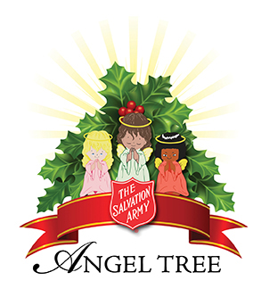 The Salvation Army Angel Tree.