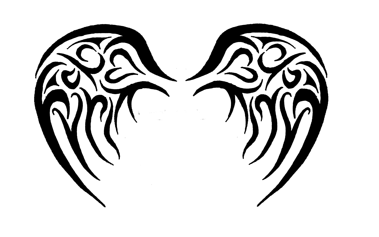 deviantART: More Like baby angel tribal wings by.