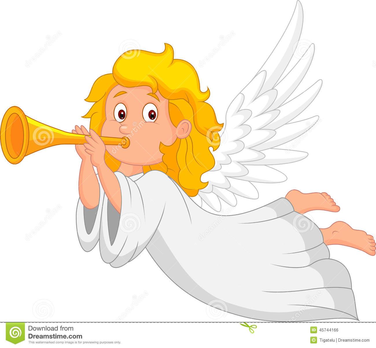 Angel Trumpet Stock Illustrations.