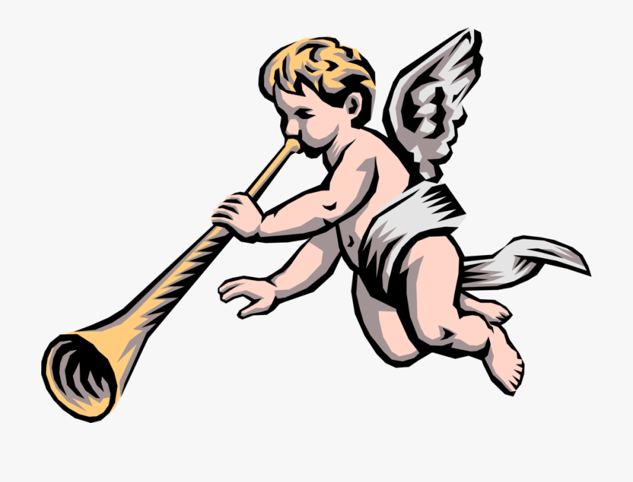 Angelic Trumpet Png.