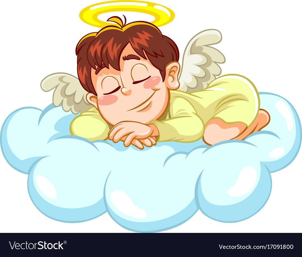 Sleeping little baby angel.