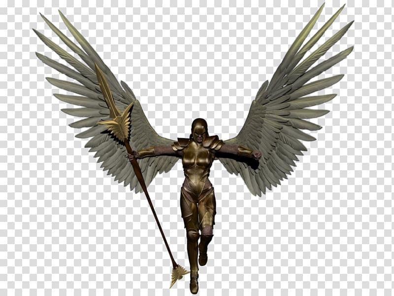 Angel , Warrior Angel Background transparent background PNG.