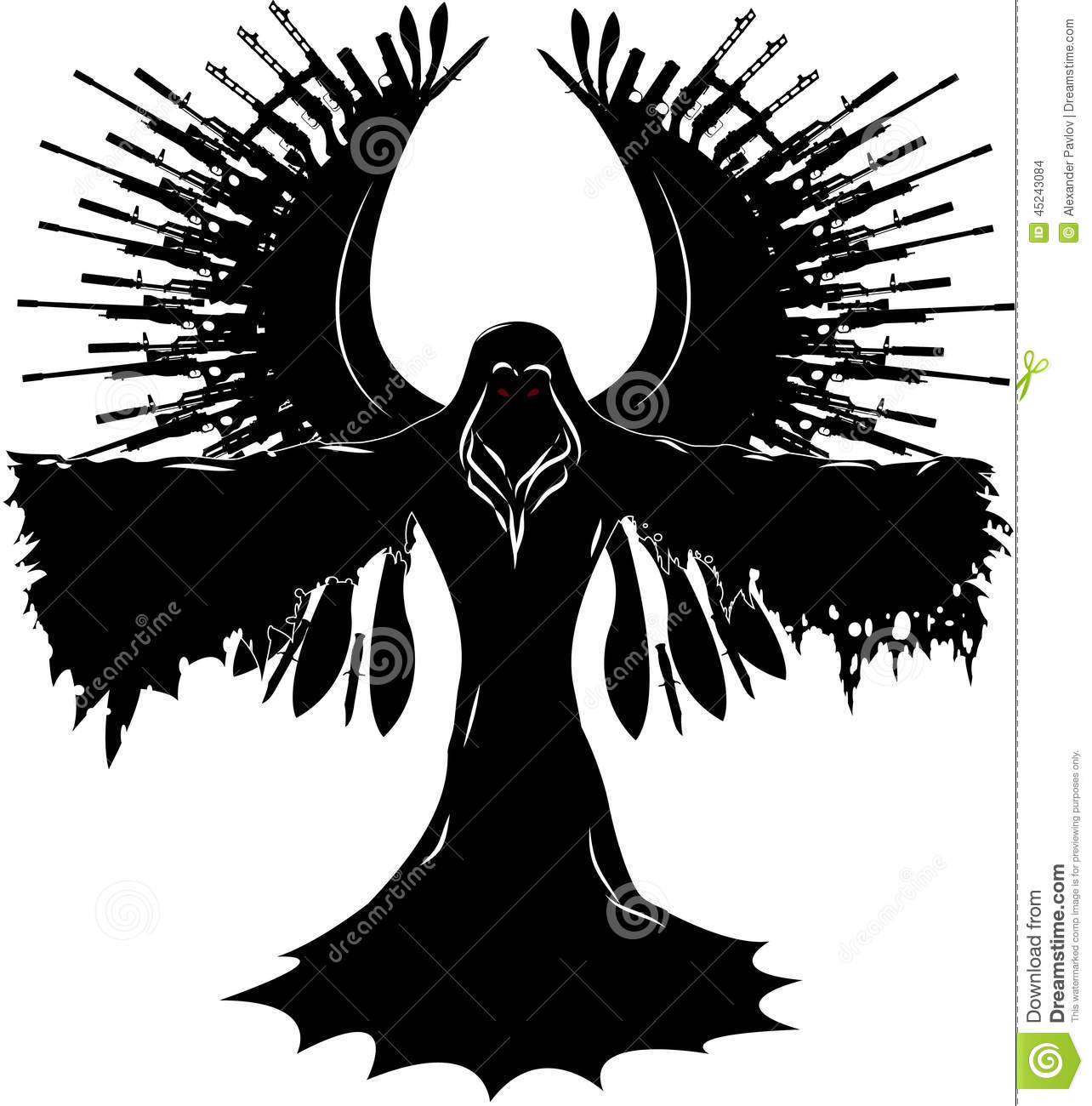 Angel Of Death Clipart.