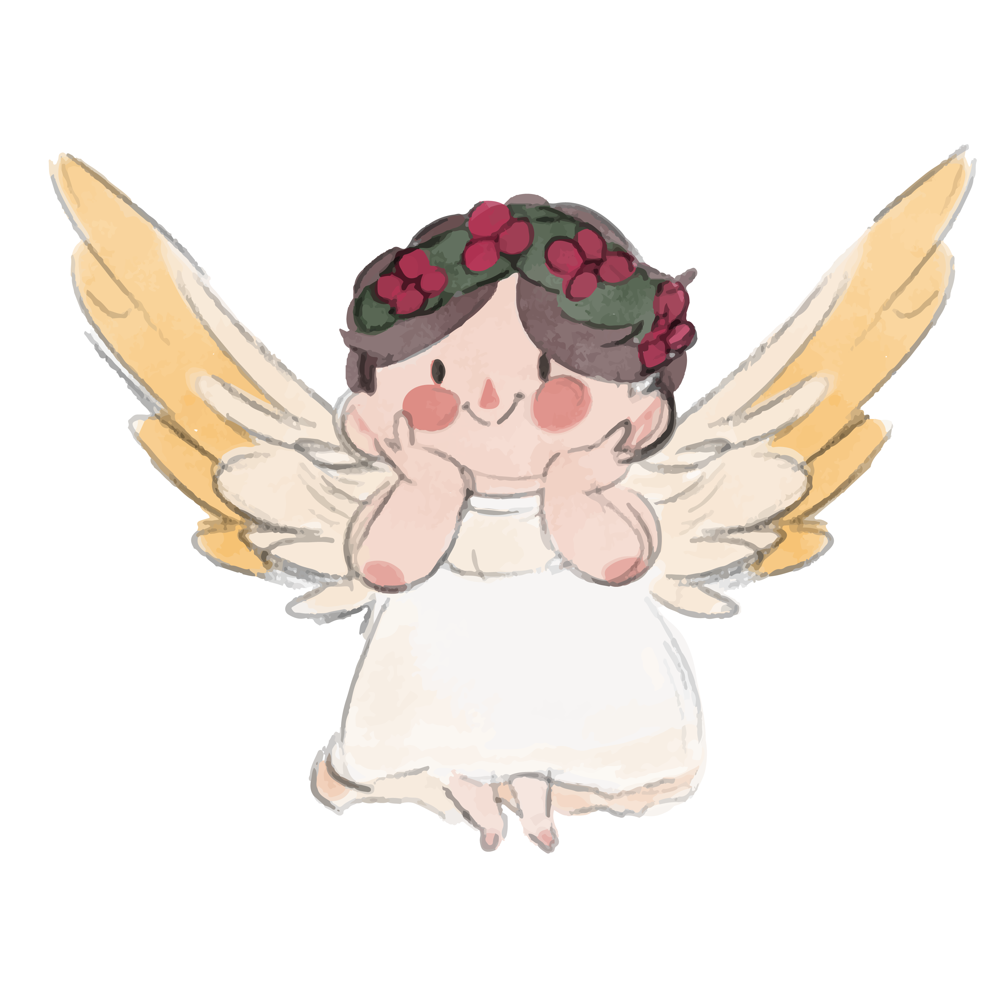Clipart angel watercolor, Picture #372436 clipart angel.
