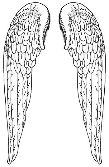 Free Printable Angel Wings, Download Free Clip Art, Free.