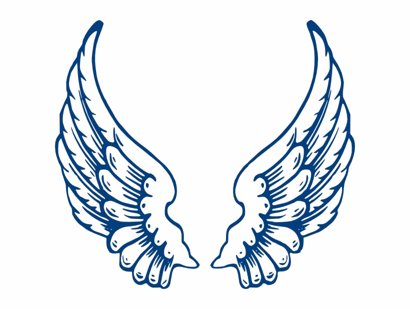 Vector Angel Wings PNG Clipart.