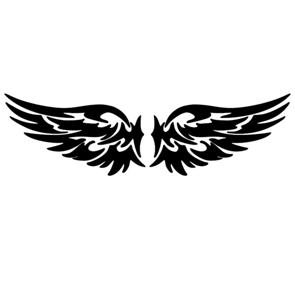 2019 Angel Wings Tribal Design Car Auto Window Vinyl Decal Sticker Cute And  Interesting Fashion Sticker Decals From Xymy767, $3.92.
