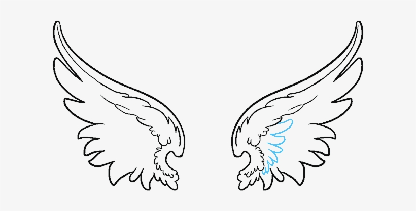 Clip Art Black And White Download How To Draw Angel.