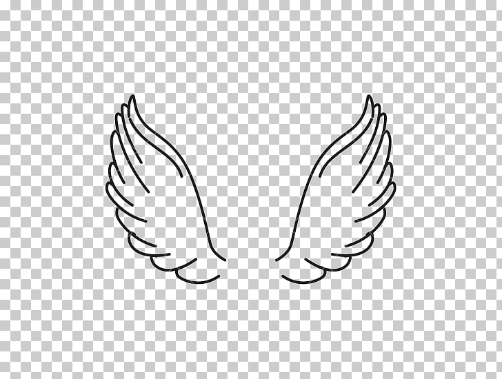 Computer Icons , angel wings, black wings illustration PNG.