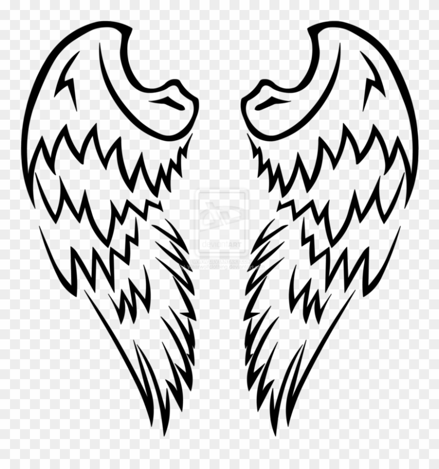 Angel Wings Clipart for you.
