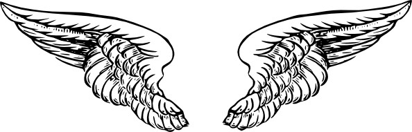 Angel wings free angel wing clip art free vector for free download.