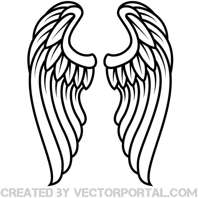 28 Angel Drawings Free Drawings Download: Angel Wings Clipart 20 Free Cliparts