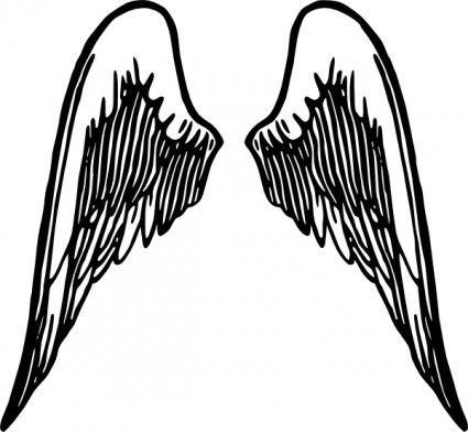 Free angel wing vector art Free vector for free download.